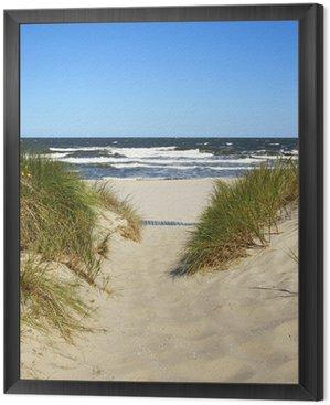 Obraz v Rámu Cesta k pláži
