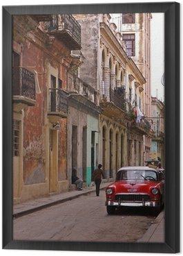 Obraz v Rámu Classic auto čeká