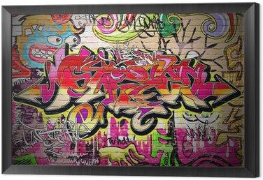 Obraz v Rámu Graffiti Art Vector pozadí