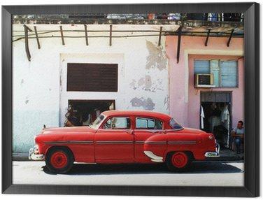 Obraz v Rámu Havana auto