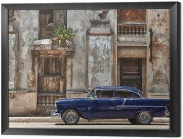 Obraz v Rámu Havana, Cuba