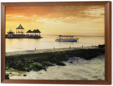 Obraz v Rámu Karibské slunce