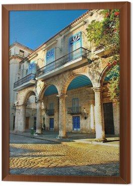 Obraz v Rámu Koloniální architektura v Havaně
