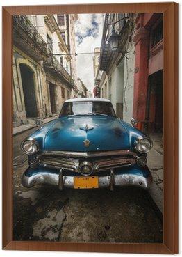 Obraz v Rámu Kuba Vintage