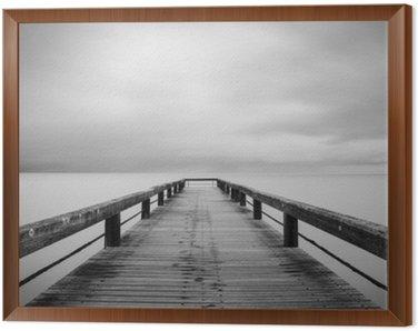 Obraz v Rámu Lunga Esposizione v bianco e nero