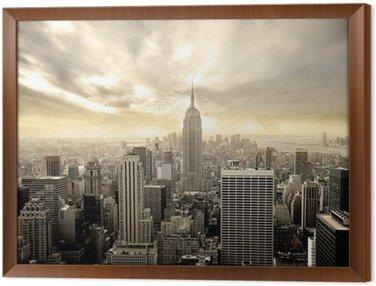 Obraz v Rámu Manhattan