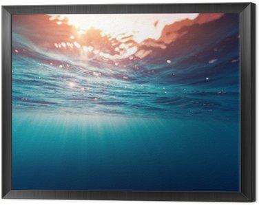 Obraz v Rámu Modré moře