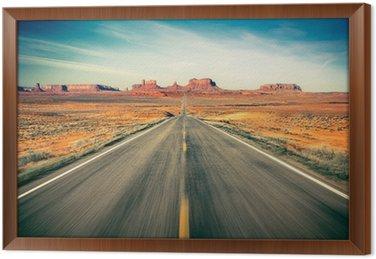 Obraz v Rámu Monument Valley