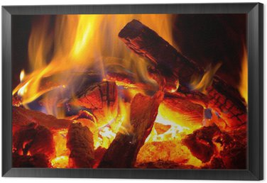 Obraz v Rámu Plamen ohně