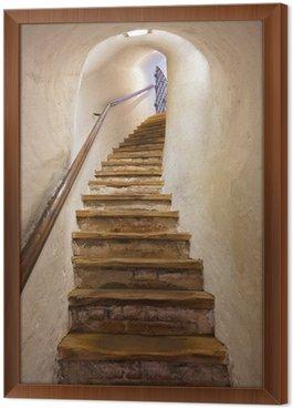 Obraz v Rámu Schody v hradě Kufstein - Rakousko