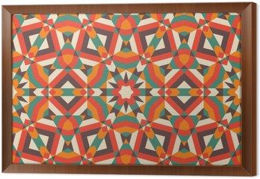 Obraz v Rámu Seamless Mosaic Pattern