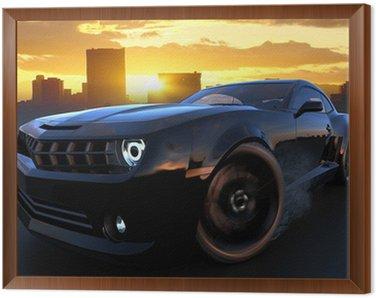 Obraz v Rámu Sport car