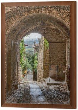 Obraz v Rámu Starožitné italština alej