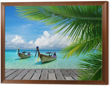 Obraz v Rámu Tropické moře