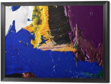 Obraz w Ramie Abstrakcyjna grafika malarstwo