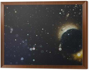 Obraz w Ramie Abstrakcyjne tło przestrzenne