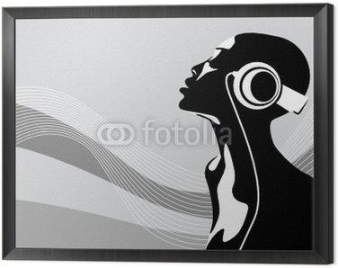 Obraz w Ramie Afrykańska kobieta