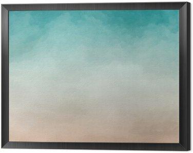 Obraz w Ramie Akwarela abstrakcyjna tekstury