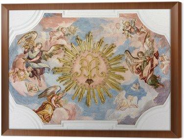 Anioły fresk