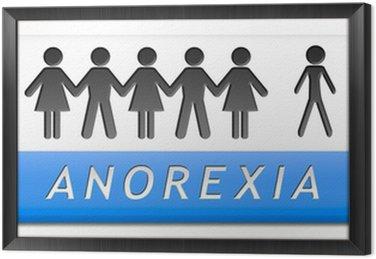 Obraz w Ramie Anoreksja