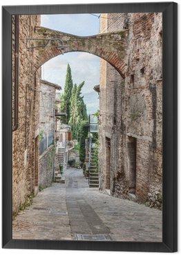 Obraz w Ramie Antyczne włoskich aleja