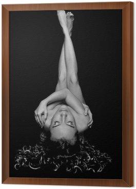 Obraz w Ramie Artystyczne nagie kobiety w studio