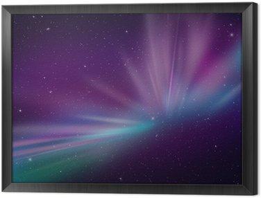 Obraz w Ramie Aurora Polar Lights