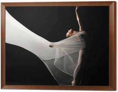 Obraz w Ramie Baletnica