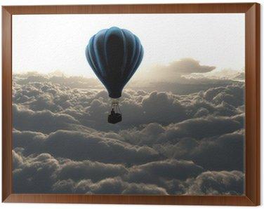 Obraz w Ramie Balon na niebie