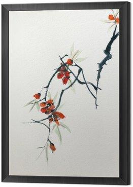 Obraz w Ramie Blooming Sakura