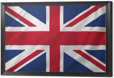 Obraz w Ramie British flag