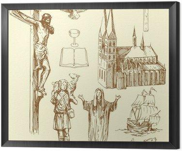 Obraz w Ramie Chrześcijaństwo, religia