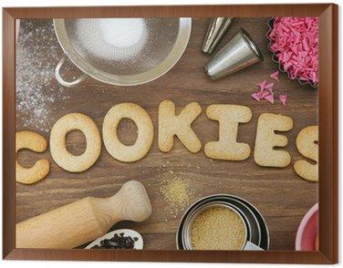 Obraz w Ramie Cookies