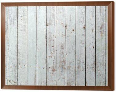 Obraz w Ramie Czarne i białe tło z drewnianych desek