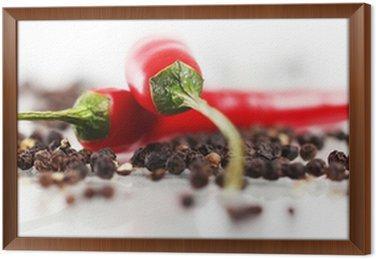 Obraz w Ramie Czerwona papryka chili