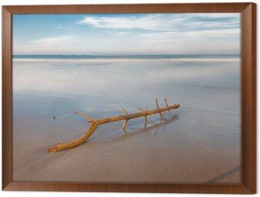 Długa ekspozycja na plaży