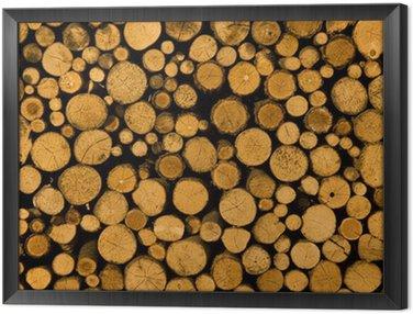 Obraz w Ramie Drewno-mur-3