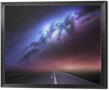 Obraz w Ramie Droga Mleczna Z Ziemi