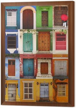 Obraz w Ramie Drzwi Kartagina, Kolumbia