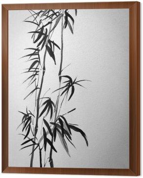 Obraz w Ramie Dwa bamboo