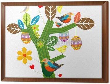 Obraz w Ramie Easter tree
