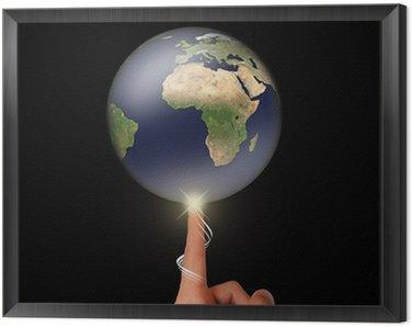 Obraz w Ramie Environmental koncepcji / stworzenie świata