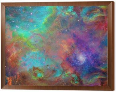 Obraz w Ramie Galactic Kosmiczna