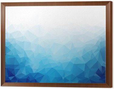 Geometryczne Niebieski lód tekstury tła