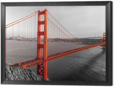 Obraz w Ramie Golden Gate, San Francisco, Kalifornia, USA.
