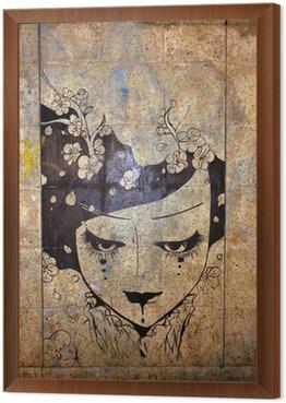 Obraz w Ramie Graffiti - sztuka ulicy