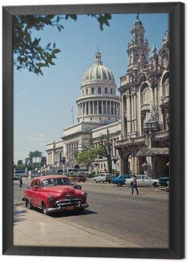 Obraz w Ramie Havana Capitolio, Kuba