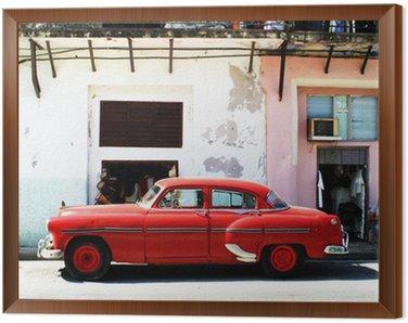 Obraz w Ramie Havana samochod