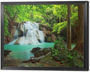 Obraz w Ramie Huay Mae kamień wodospad