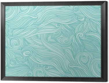 Obraz w Ramie Jednolite abstrakcyjny wzór, splot tło faliste włosy